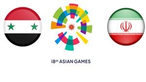 خلاصه بسکتبال ایران 68 - سوریه 55 (جاکارتا 2018)