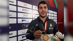 مصاحبه با سجاد گنجزاده پس از کسبمدالطلا کاراته