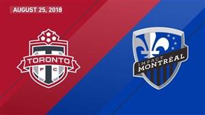 خلاصه بازی تورنتو 3 - مونترال ایمپکت 1 (گلزنی سباستین جووینکو)