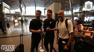 کلیپ رسمی باشگاه السد از حضور در فرودگاه تا استقبال در تهران
