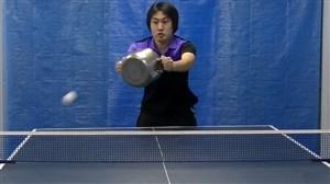 هنرنمایی یک متخصص تمام عیار در ورزش پینگ پنگ