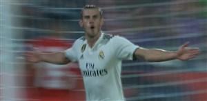 گل سوم رئال مادرید به خیرونا (گرت بیل)