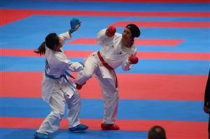 کاراته قهرمانی جهان؛ برتری کمیته تیمی بانوان در گام نخست
