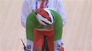 رتبه سوم دوچرخه سواری تیم اسپرینت دوره مقدماتی