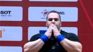 قهرمانی سلیمی و نایب قهرمانی علی حسینی در وزن +105 کیلو