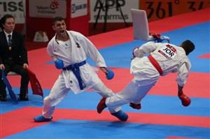 کسب مدال برنز ذبیح الله پورشیب وزن 84- قهرمانی جهان