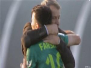 اولین گل فرشاد احمدزاده در لیگ لهستان