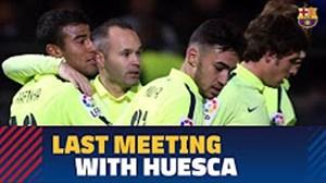 12 گل بارسلونا به هوئسکا در تقابلهای دو تیم