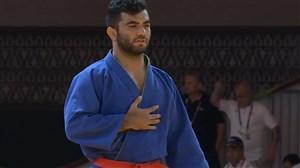 کسب مدال برنز امید تیزتک در کوراش مقابل افغانستان