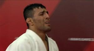 شکست ناعادلانه و کسب مدال نقره سعید ملایی در وزن 81-کیلوگرم