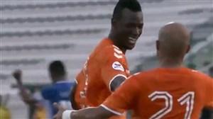 اولین گل مامه تیام در اولین بازی لیگ برای عجمان