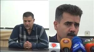 کنفرانس خبری بازی فولاد خوزستان - سایپا