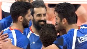 خلاصه والیبال ایران 3 - کره جنوبی 0 ( فینال مسابقات آسیایی جاکارتا )
