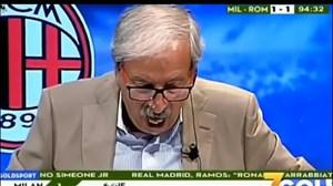 واکشعجیبگزارشگر ایتالیایی به گلدقیقه 95 کوترونه