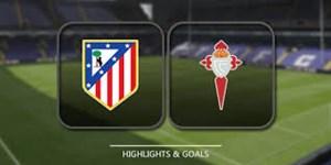 خلاصه بازی سلتاویگو 2 - اتلتیکو مادرید 0