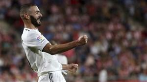 گل اول رئال مادرید به لوانته توسط کریم بنزما
