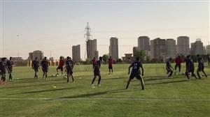 تمرین امروز تیم ملی ایران (12-06-97)