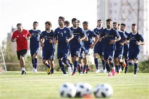 حواشی تمرینات تیم ملی در زمین در استادیوم آزادی
