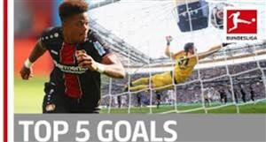 5 گل برتر هفته دوم بوندسلیگا فصل 19-2018
