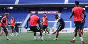 تمرین امروز تیم ملی برزیل (15-06-97)