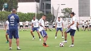 تمرین امروز تیم ملی آرژانتین (15-06-97)