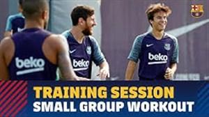تمرین امروز بارسلونا (97/6/15)