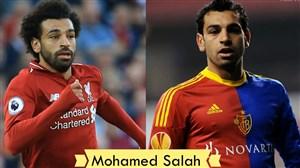 مقایسه چهره بازیکنان فوتبال با موی بلند و کوتاه