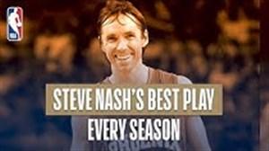 حرکت های برتر استیو نش در تمام فصلهای حضورش در NBA