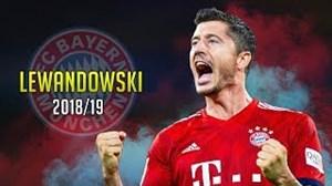 شروع فوق العاده لواندوفسکی در فصل 19-2018