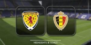 خلاصه بازی اسکاتلند 0 - بلژیک 4