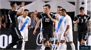آرژانتین 3-0 گواتمالا: درخشش تازه واردها برای آلبی سلسته