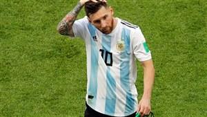 پیراهن شماره 10 آرژانتین منتظر مسی است
