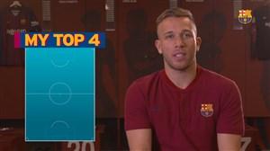 بهترین فوتبالیستهای دنیا به انتخاب خرید تازه بارسلونا