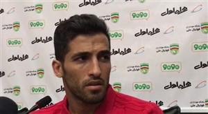 کنفرانس خبری وحید امیری پس از تمرین تیم ملی