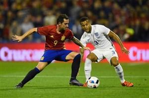 ترکیب دو تیم اسپانیا و انگلیس اعلام شد