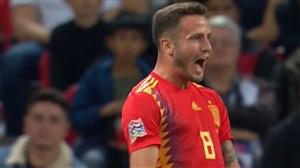 گل اول اسپانیا به انگلیس ( سائول نیگز )