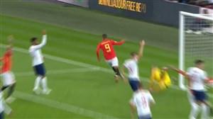 گل دوم اسپانیا به انگلیس ( رودریگو )