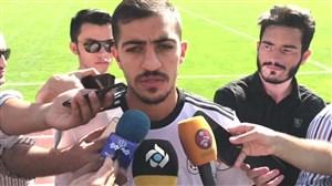 صحبتهای سیدمجید حسینی قبل از بازی با ازبکستان