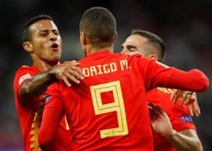 ترکیب تیم های کرواسی و اسپانیا اعلام شد
