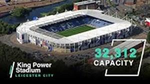 رتبه استادیوم های لیگ جزیره بر اساس ظرقیت