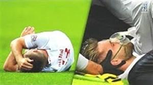 بازیکنانی که خطر مرگ در زمین فوتبال را تجربه کردند