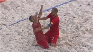 خلاصه فوتبال ساحلی + پنالتی پرتغال 4 - روسیه 4