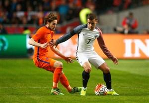 ترکیب اصلی هلند و فرانسه اعلام شد