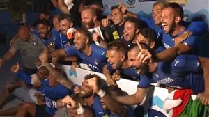 مراسم اهدای جام قهرمانی و جوایز فردی فوتبال اروپا 2018