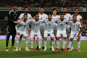 پیش بازی دیدار دوستانه ایران - ازبکستان