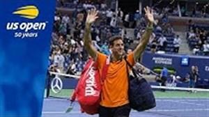 5 امتیاز برتر دل پوترو نایب قهرمان مسابقات تنیس آزاد آمریکا