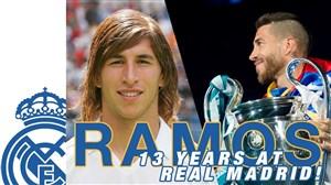 به مناسبت سیزدهمین سال حضور سرخیو راموس در رئال مادرید