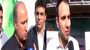 جشنواره فوتبال پایه زیر دوازدهسال کشور در استان البرز با حضور تاج و خلیلی