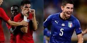 ترکیب ایتالیا برای بازی با پرتغال مشخص شد