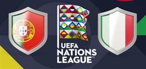 خلاصهبازی پرتغال 1 - ایتالیا 0 (لیگملتهای اروپا)